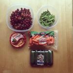 Fruit-vegetables-hummus-snack