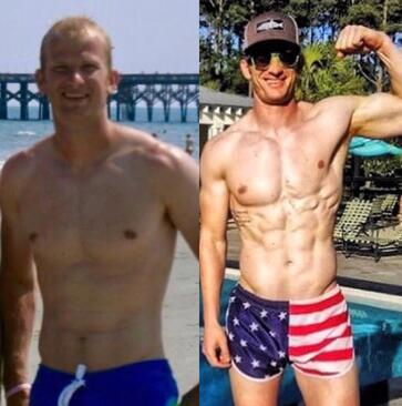 O2 James Island Transformation Muscle Gain Rob