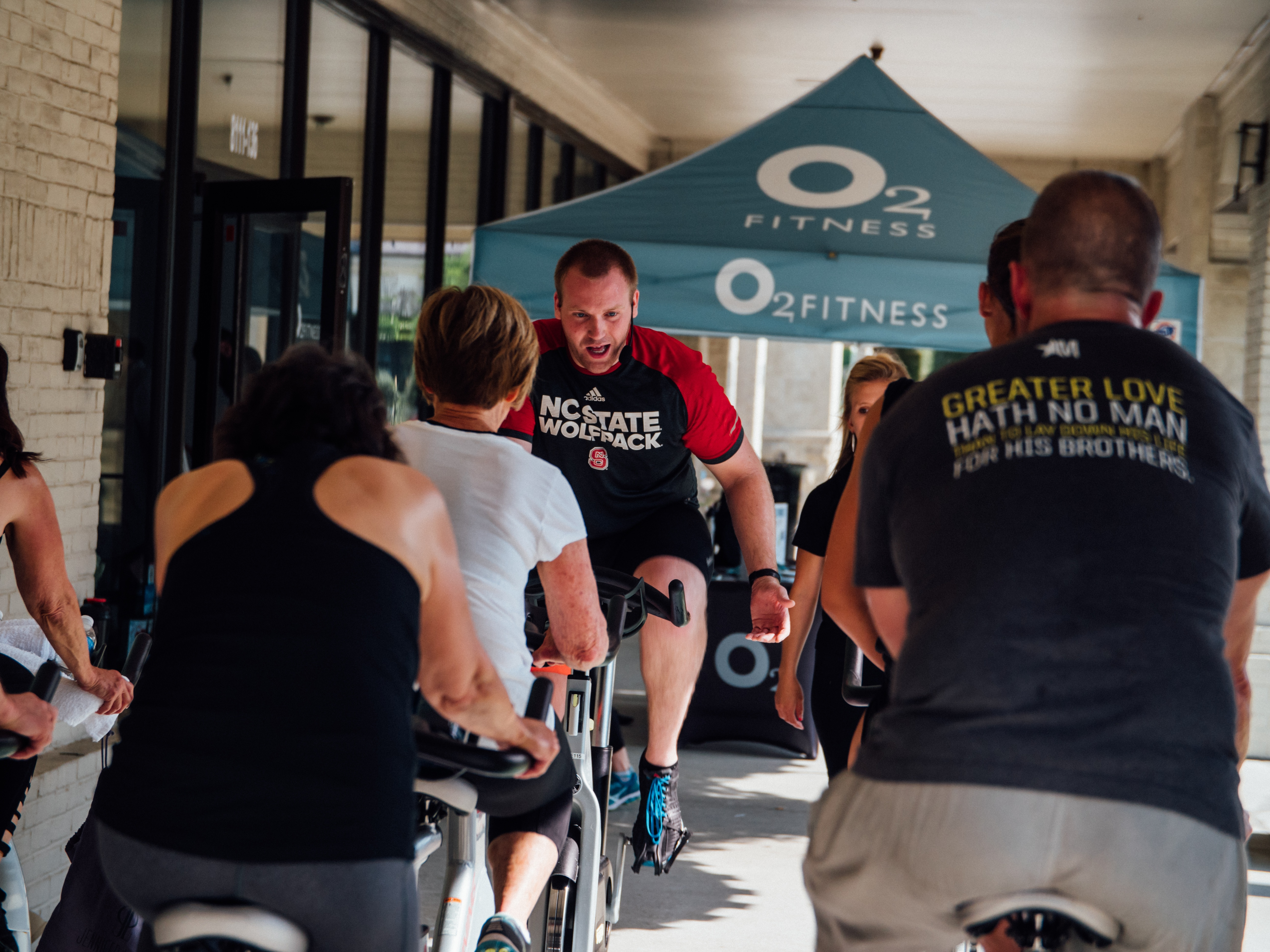 North-Raleigh-Gym-Brennan-Station-Cycling