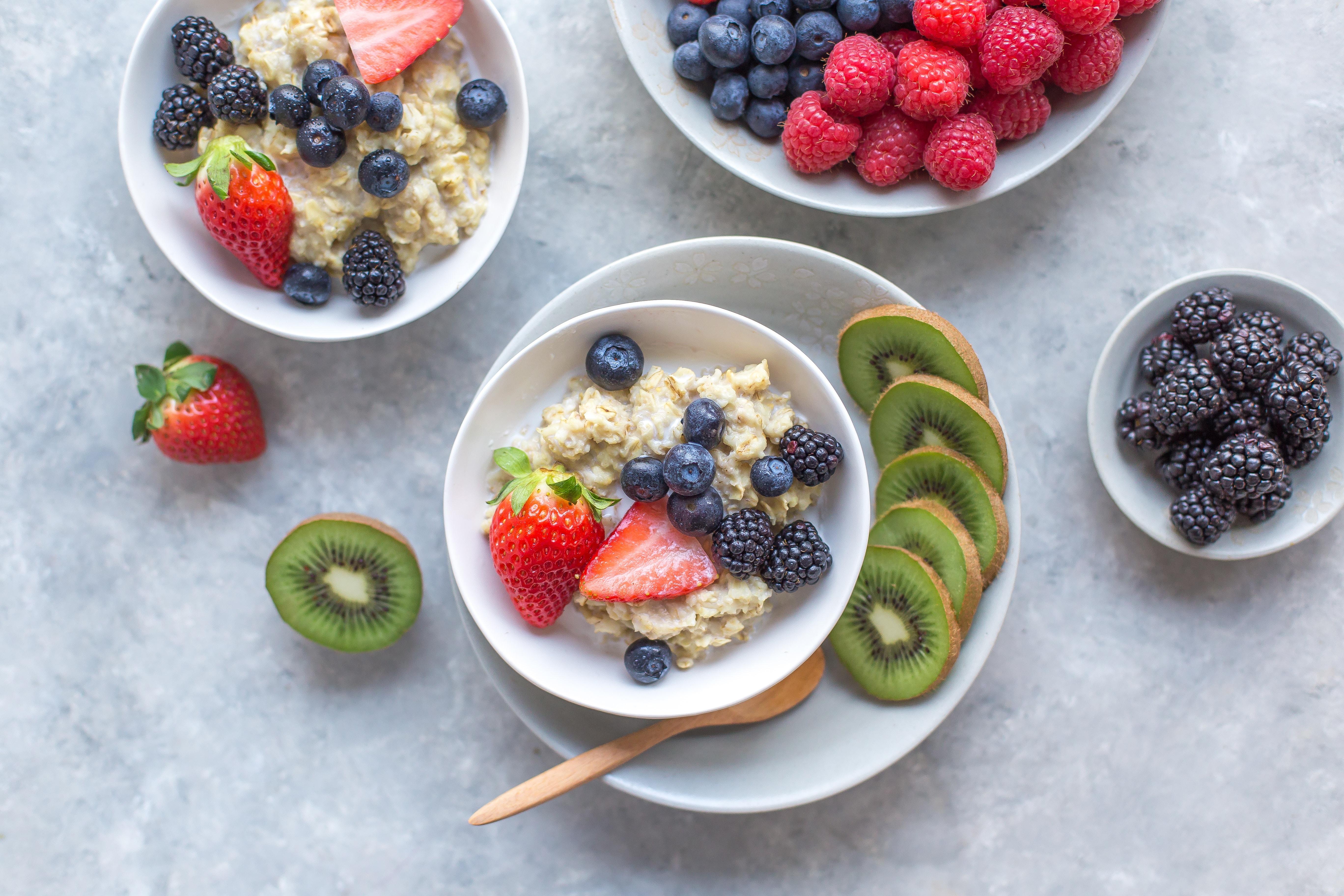 healthy oatmeal O2 Fitness